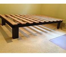 Make a bed frame platform Video