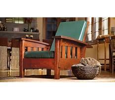 Make a morris chair Video