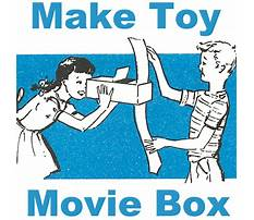 Make a toy movie box Video