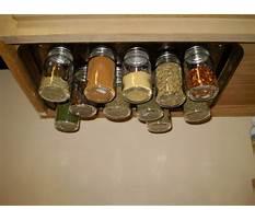 Make magnetic spice rack for refrigerator Video
