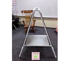 Make your own classroom easel Video