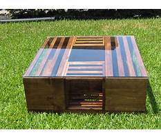 Making a coffee table from crates Video