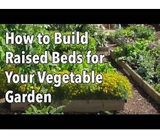 Making a raised garden bed.aspx Video