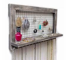 Making a wall mounted jewelry box Video