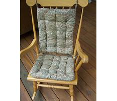 Making cushions for a rocking chair Video