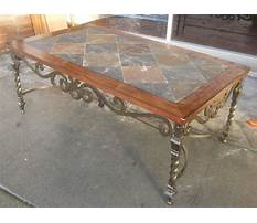 Marble coffee tables with iron legs Video