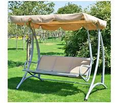 Menards metal porch swing stand Video
