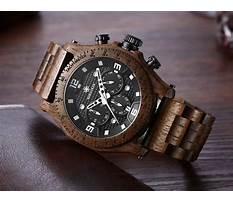 Mens wooden watch aspx viewer Video
