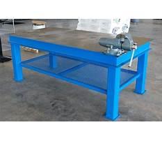 Metal shop workbench plans Video