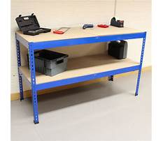 Metal work benches with shelves Video