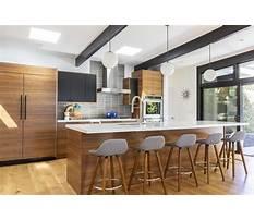 Mid century woodwork designs for kitchen Video