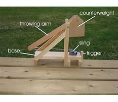 Middle school trebuchet catapult plans Video