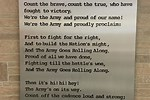Military Fight Songs