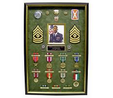 Military medal shadow box plans Video
