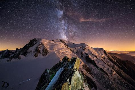 Milky Way Over Everest