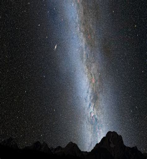 Milky Way Andromeda Collision