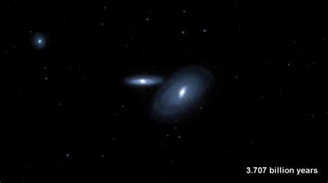 Milky Way Andromeda