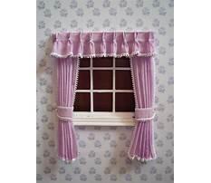 Miniature dollhouse curtain patterns Video