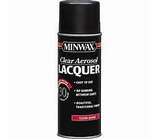Minwax lacquer spray.aspx Video