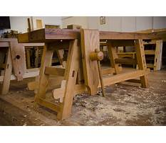 Moravian woodworking bench design Video