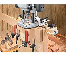 Mortise jig plans router table Video