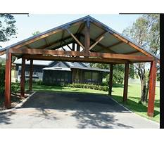My outdoor plans carport Video