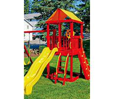 My outdoor plans playset Video