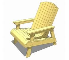 Nantucket chair plans Video