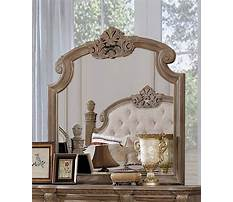 Natural wood dresser with mirror Video