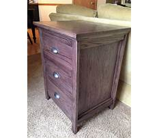 Night stand plans to build with hidden compartment Video