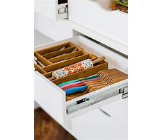 Organization ideas for kitchen drawers Video