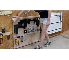 Organize that shop three shop organizing projects Video