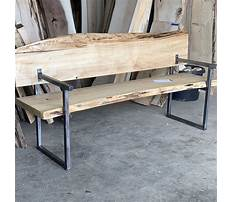 Outdoor bench plans with back and arms Video