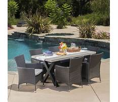 Outdoor chair with table Video
