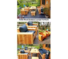 Outdoor furniture design plans Video