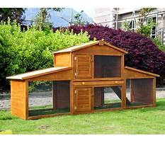 Outdoor hutches Video