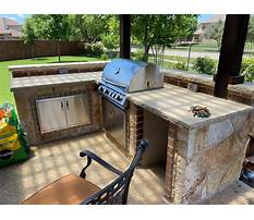 Outdoor kitchens near me Video
