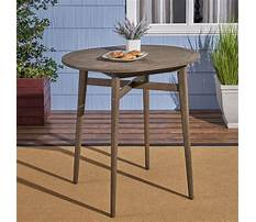 Outdoor pub tables wood Video
