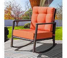 Outdoor rocking chairs clearance Video