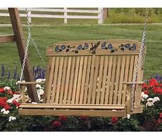 Outdoor wooden swing ohio Video