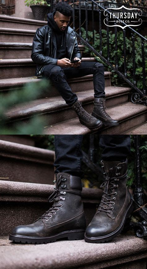 Outfits With Combat Boots Men