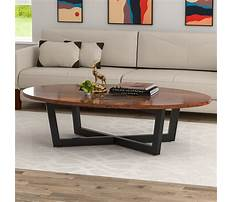 Oval coffee tables wood Video