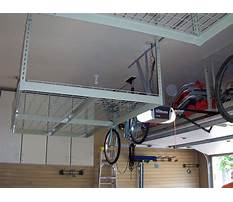 Overhead garage storage plans free Video