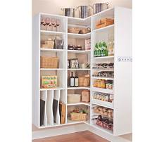 Pantry cabinet shelving ideas Video