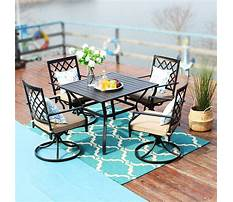 Patio chairs and table Video