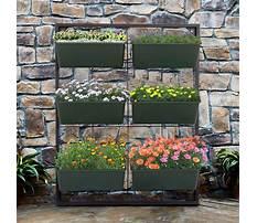 Patio garden planter design Video