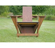 Pattern for adirondack chair.aspx Video