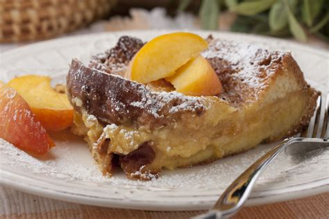 Peaches Cream French Toast