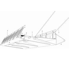 Pedestrian bridge construction detail Video
