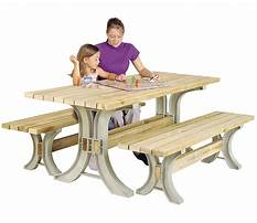 Picnic table and bench   assembly instructions Video